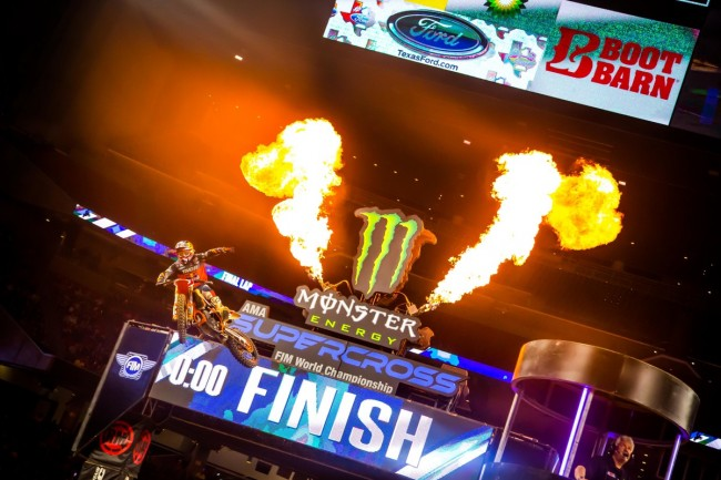 Supercross Houston : le replay intégral