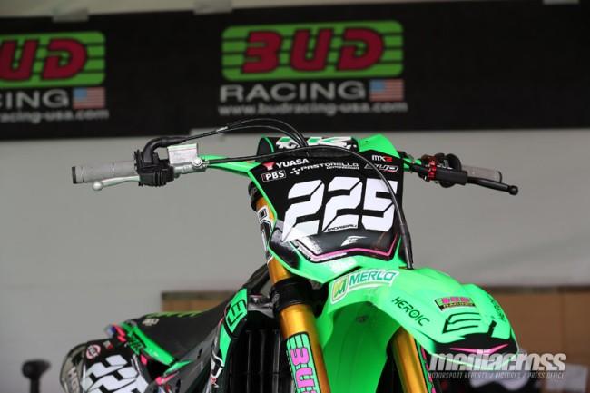 Début de saison chahuté pour le team Bud Racing Kawasaki