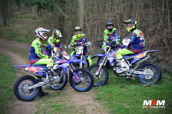 Six Pilotes Sous Les Couleurs Du Team Yamaha Zone Rouge