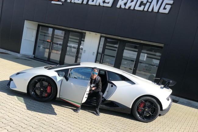 Cairoli et Lamborghini associent leur image