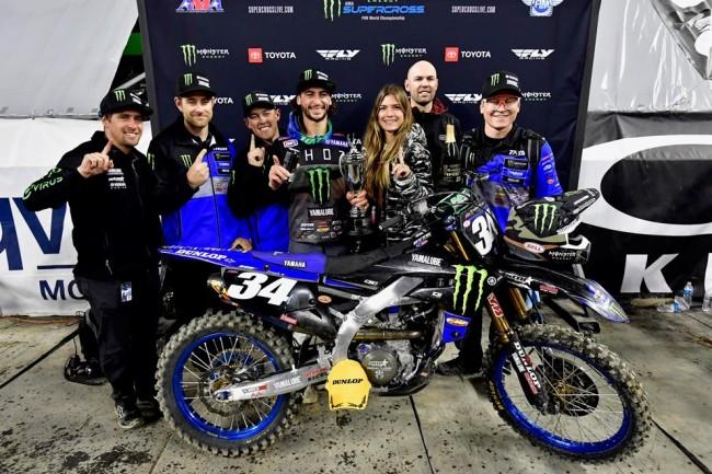 Supercross US : Dylan Ferrandis remporte sa première victoire !