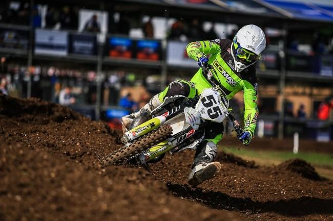 EMX2T : début de championnat difficile pour Mike Kras