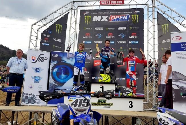 Sacha Coenen triomphe en Slovaquie