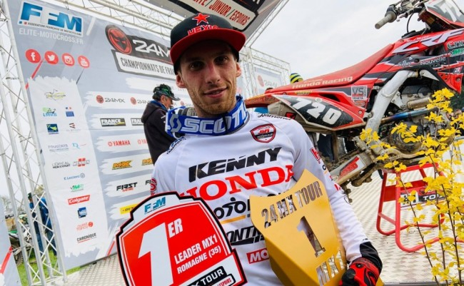 Maxime Desprey prend la tête du championnat Elite MX1 !