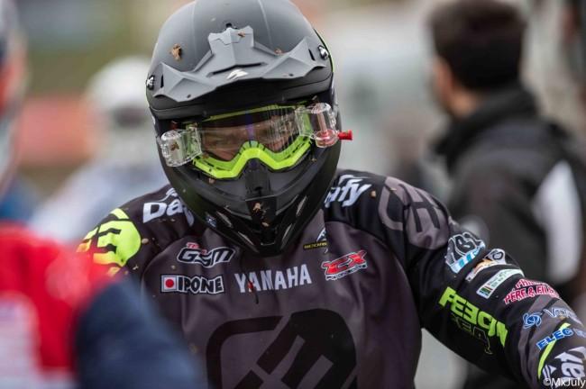 Anthony Guidolin leader du championnat de France National 125cc