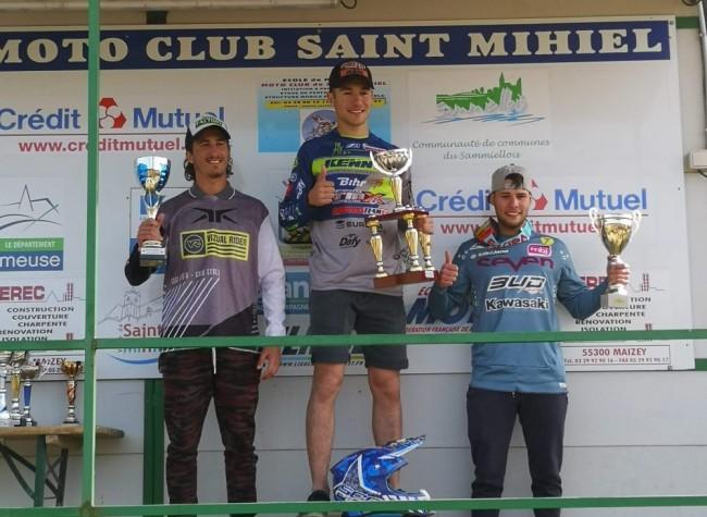Calvin Fonvieille toujours invaincu sur le championnat de France National MX2