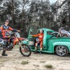 Back to the future : Jorge Prado en shooting avec Jaak Vanvelthoven