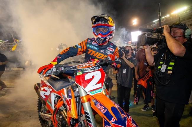 Supercross : les meilleurs moments des finales de Las Vegas en images