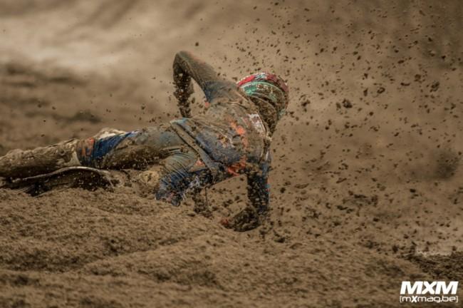 Photos : le championnat MXGP les pieds dans la boue à Mantova