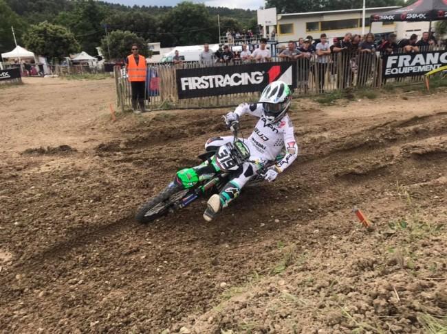 Motocross Elite : le résumé des manches Espoirs