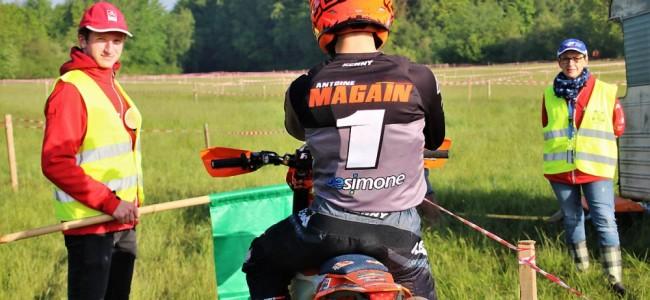 Antoine Magain remporte l'enduro de Rocroi