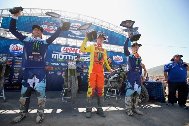 MX US : les meilleurs moments du 2ème round à Pala