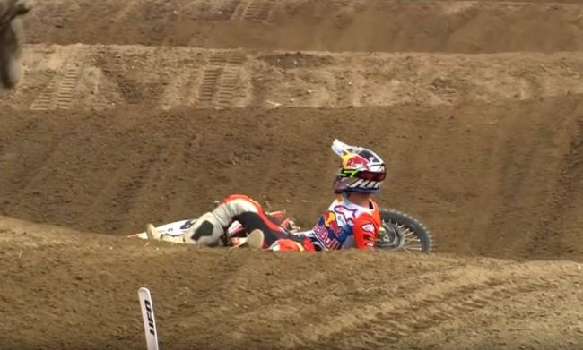 Vidéo MXGP : la chute de Tom Vialle à Mantova