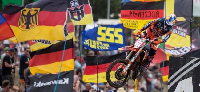 MX2 : Jorge Prado survole le GP d'Allemagne