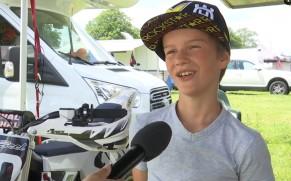 Vidéo : le championnat Minimotard inauguré dans le cadre des 15èmes Belgian Masters Supermoto à Bilstain