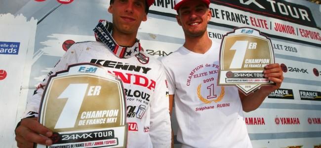 Desprey et Rubini sacrés champions de France à Iffendic