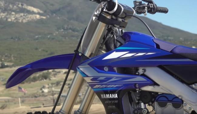 Vidéo : la Yamaha YZ-F 250 2020
