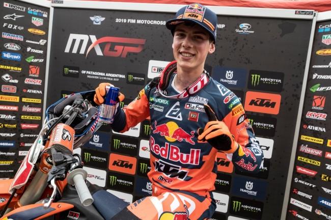 Jorge Prado roulera à Assen dans la catégorie MXGP