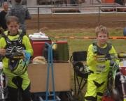Ils ont terminé la Mini-Chinelle 65cc à la deuxième place : Ophélie Ernotte et Nolan Jeitz