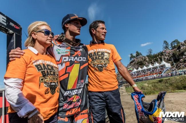 Vidéo : KTM rend hommage à la formidable saison de Jorge Prado