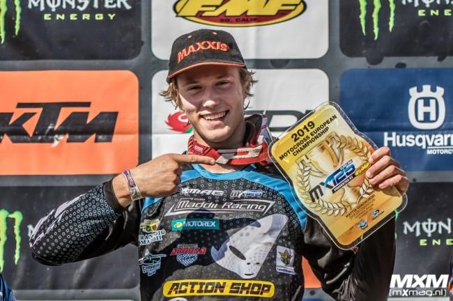 Mattia Guadagnini : le champion EMX125 en MX2 sur les deux derniers GP de la saison