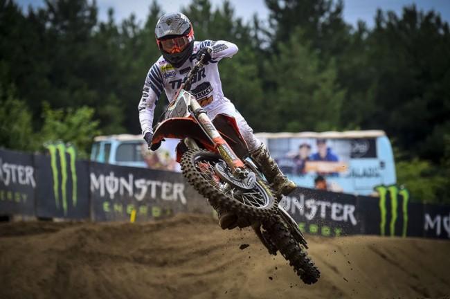 MXGP : Max Anstie en pole dans le sable de Lommel