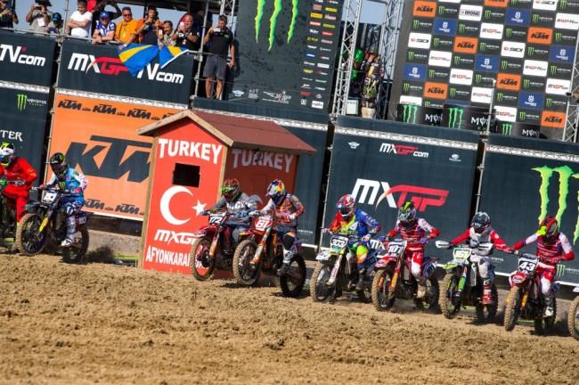 MXGP : les meilleurs moments des manches qualificatives du GP de Turquie en images