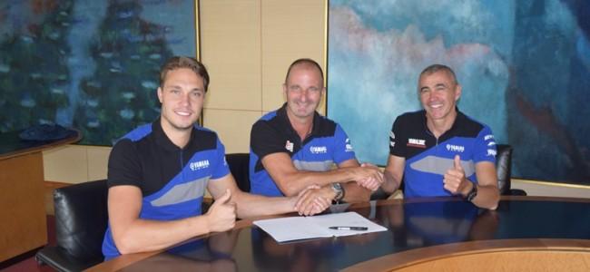 Trois pilotes pour faire briller les couleurs Yamaha en EMX250 l'an prochain