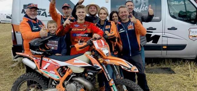 Antoine Magain enlève un deuxième titre de champion de Belgique d'enduro