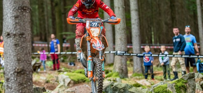 EnduroGP : excellent week-end pour Antoine Magain en Tchéquie
