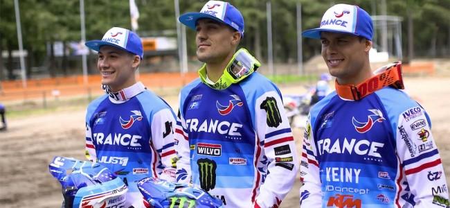 Vidéo : l'équipe de France prépare le MX des Nations