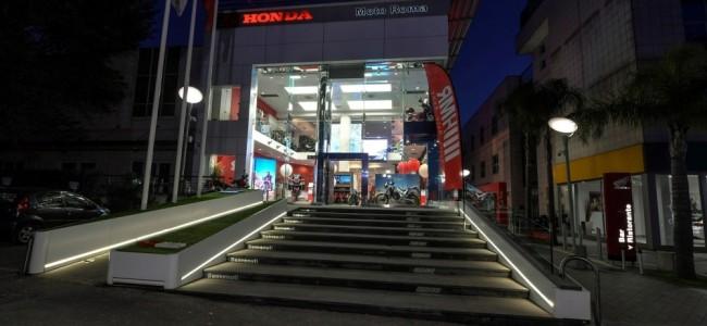 "Honda inaugure sa première concession ""Dream"" à Rome"