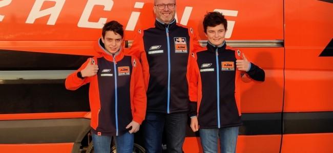 Lucas et Sacha Coenen de retour chez KTM