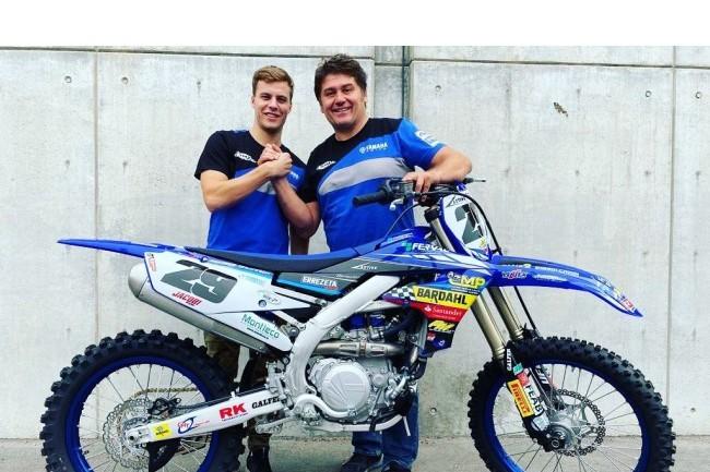Henry Jacobi disputera sa première saison MXGP avec le team SM Action Yamaha