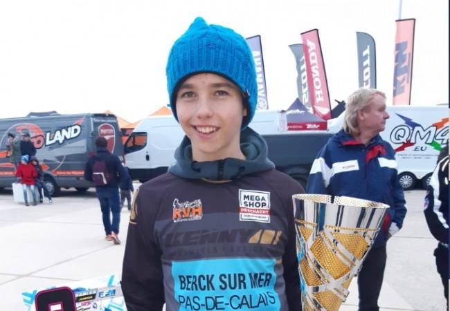 Junior Bal sur le championnat EMX125 avec le RGS MX Team