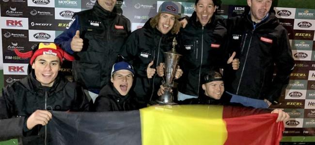 ISDE : le Watling Trophy pour la Belgique !