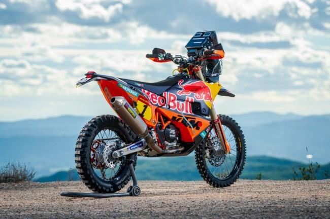 "Vidéo : la KTM 450 Rally ""Factory"" à la loupe"