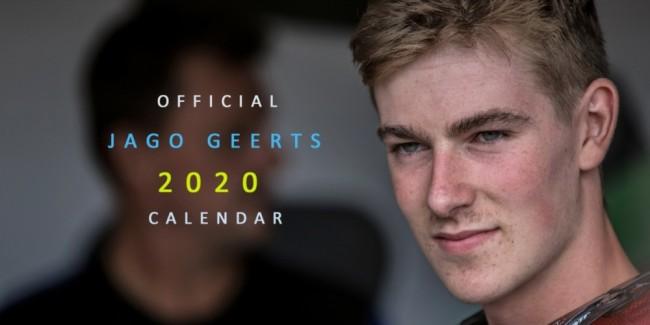 Calendrier officiel 2020 Jago Geerts : 3 exemplaires à gagner