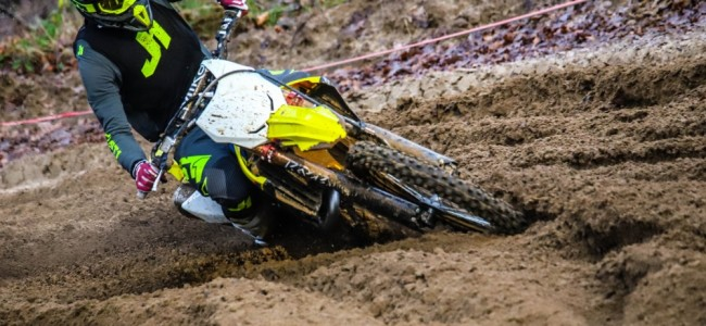 Premières photos : Kevin Strijbos au guidon de la Suzuki