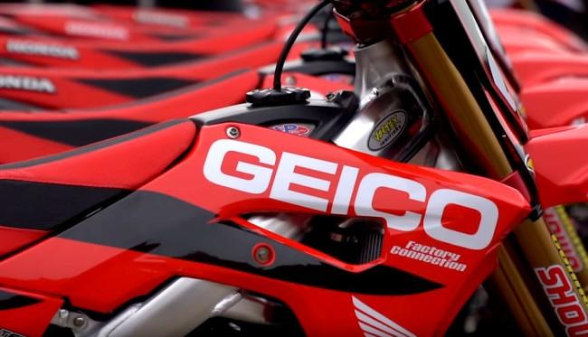 Ryan Dungey claque la porte du team Honda Geico