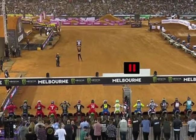 Vidéo : les finales du Supercross de Melbourne
