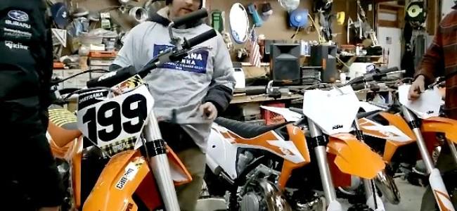 Vidéo : Travis Pastrana au guidon d'une KTM 250 2-temps