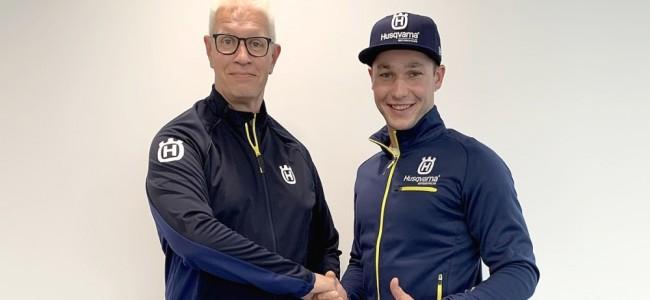 Mathias Van Hoof signe chez Husqvarna