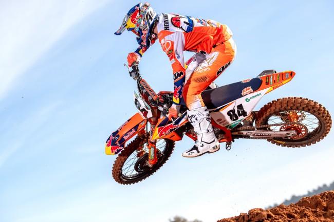 Jeffrey Herlings avec KTM jusqu'en 2023