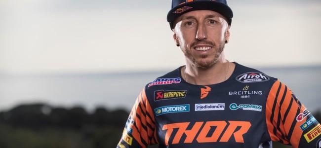 Antonio Cairoli a été opéré du genou