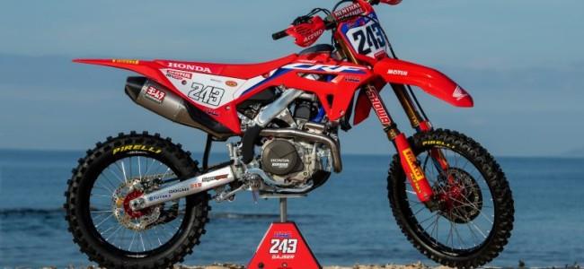 Photos : la toute nouvelle Honda CRF450RW HRC aux mains de Tim Gajser et Mitch Evans