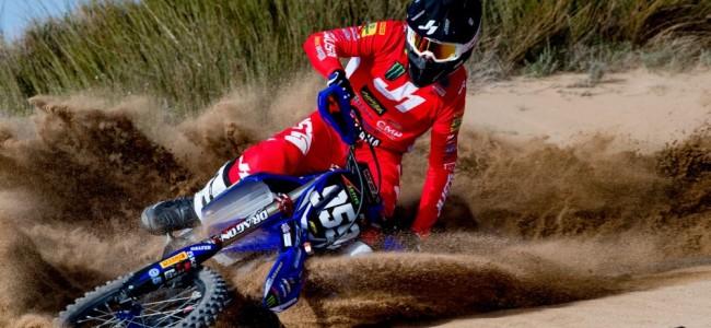 Photos : Maxime Renaux et Henry Jacobi sur le shooting officiel du team Yamaha SM Action