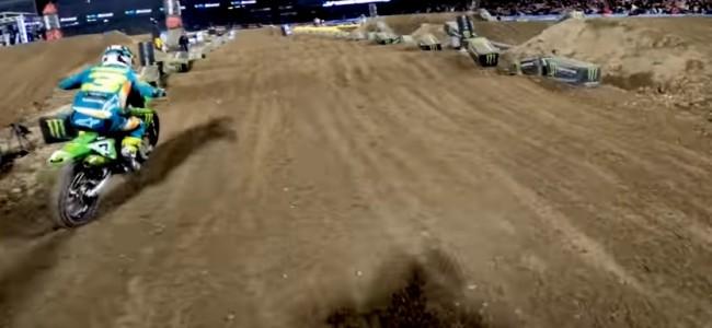 Vidéo : avec Ken Roczen dans la finale d'Anaheim II