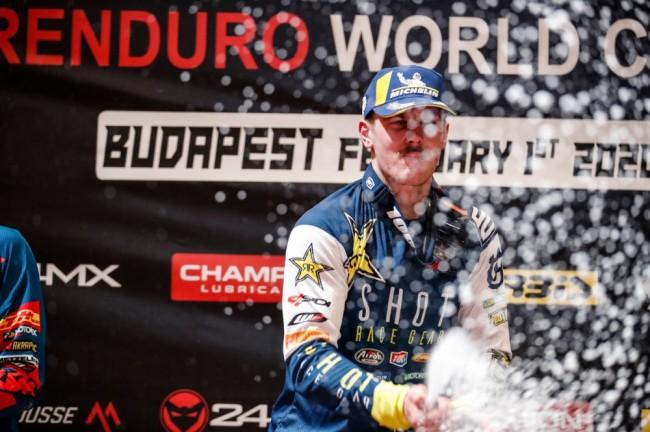 Billy Bolt poursuit sa domination sur le championnat SuperEnduro