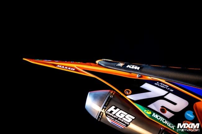 Photos : la KTM 250 SX-F de Liam Everts